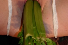kinky bbw fucking vegetables