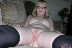 Blond Nerd Teen Nude